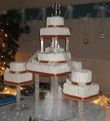 cake pillars wedding cake with pillars and cakecentral