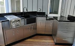 Remarkable Stainless Steel Kitchen Cabinets Beautiful Home Design - Amazing stainless steel kitchen cabinet doors home