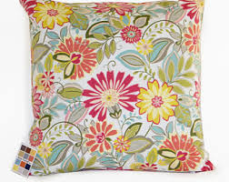 Shabby Chic Pillow Covers by Modern Floral Pillow Etsy