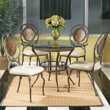 Mirror Dining Room Table Bassett Mirror Cameo 5 Piece Dining Room Set Flap Stores