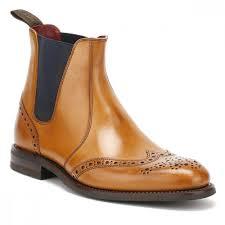 loake mens tan calf hoskins chelsea boots host tower london