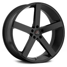cavallo clv 5 wheels matte black rims
