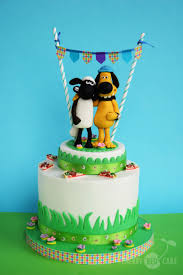 63 best birthday cakes images on pinterest shaun the sheep cake