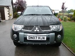 mitsubishi 2007 2007 mitsubishi l200 di d double cab diamond automatic west