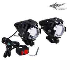 motorcycle led spot light pair shark motorcycle leathers