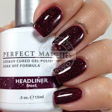 lechat perfect match swatch gallery u2013 chickettes soak off gel