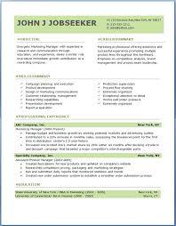 new resume format free sle resume format sponsor sle resume format for