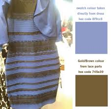blue and black dress ugly vary of dress