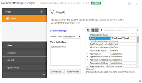 xtragrid layout view designer application ui manager winforms controls devexpress help