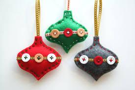 felt christmas kits felt ornament peerclip