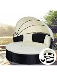 Round Outdoor Sofa Patio Sofas Amazon Com