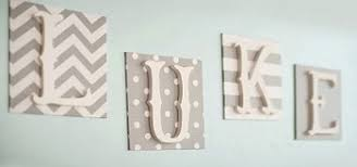 Letter Wall Decor Fabric Wall Letters Wall Letters Letter Wall Decor