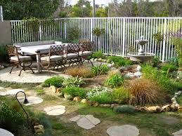 Backyard Slope Ideas Fascinating Backyard Ground Cover Ideas Ideas Best Idea Home