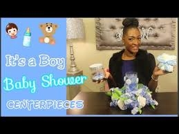 baby boy centerpieces diy dollar tree it s a boy baby shower centerpieces