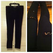 Forever 21 Ripped Jeans Forever 21 Forever 21 Black Ripped Lace Jeans From Alexia U0027s