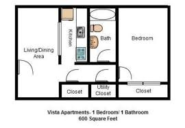 600 sq ft apartment floor plan vista apartments homes and duplexes lynchburg guide apartments