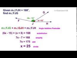 Angle Addition Postulate Worksheet Answers Segment Angle Addition Postulates Lessons Tes Teach