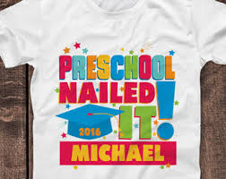 pre k graduation gifts preschool graduation shirt owl pre k nailed it toddler shirt