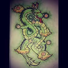 dragonball z shenron dragon by leechyd5 on deviantart