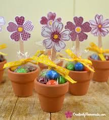 flower pot favors tiny flower pots favors flowers ideas