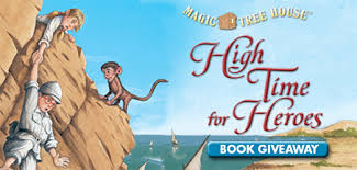 Magic Treehouse - magic tree house high time for heroes giveaway