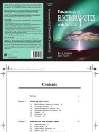 fundamentals of electromagnetics coordinate system cartesian