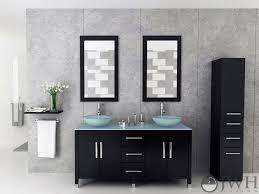 Double Vessel Sink Bathroom Vanities by 59