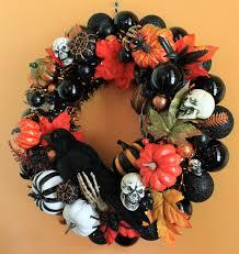 spooky wispy wreath paper bats halloween wreath the green head