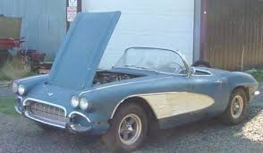 1961 corvette project for sale 1961 corvette project used chevrolet corvette for sale in boring