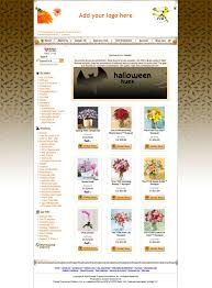 halloween web template ftdi com ftd florists online website templates