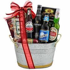 Beer Baskets Bucket O U0027 Bud Gift Basket Send Liquor Craft Ideas Pinterest