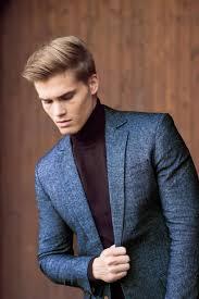 denim wool blend winter suit darkoh