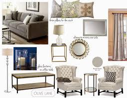 olive lane e design client formal living room