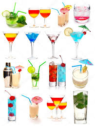 birthday martini white background cocktails collection u2014 stock photo haveseen 1825616