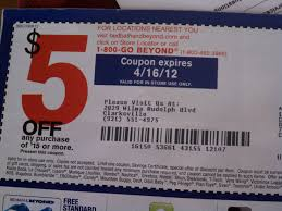 Bed Bath Beyond In Store Coupon 5 Off 15 Bed Bath U0026 Beyond Coupon Clarksville Clippers