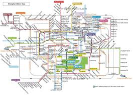 Metro La Map Maps Of Shanghai China Streets Metro Lines Attractions City Layout