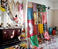 What Kind Of Fabric To Make Curtains Best 25 Scarf Curtains Ideas On Pinterest Bohemian Curtains