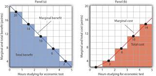 marginal costs using marginal benefit and marginal cost curves to find net