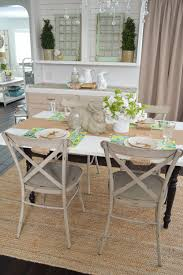 Aqua Dining Room by Simple Spring Aqua Lemon Easter Table Fox Hollow Cottage