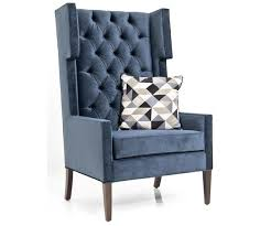 Velvet Wingback Chair Tangier Wing Chairs Modshop