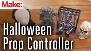 arduino controlled halloween props youtube