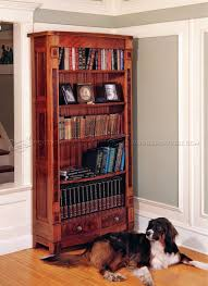 Furniture Plans Bookcase by Bookcase Plans U2022 Woodarchivist