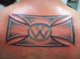 volkswagen bus tattoo thesamba com general chat view topic back vw tattoo