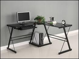 desktop computer desk walker edison soreno l shape computer desk with sliding keyboard