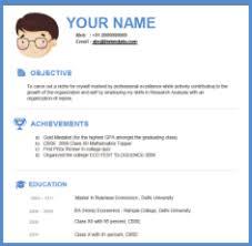 free modern resume templates