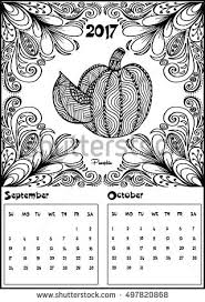 may 2017 calendar line art black stock vector 506705251 shutterstock