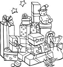 coloring pictures of christmas presents printable coloring pages christmas presents coloring pages christmas