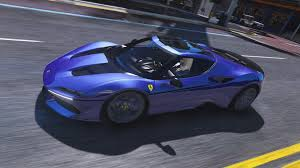 ferrari j50 rear 2017 ferrari j50 limited add on hq gta5 mods com