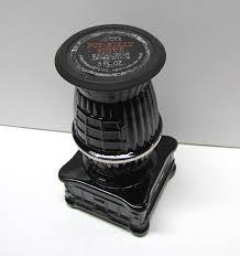 vintage avon pot belly stove bottle decanter figurine it is