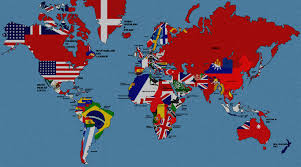 Flags Of All Nations A Mostly Accurate World Map Depicting All Flags Of The